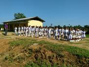 Mount Zion School Students drill