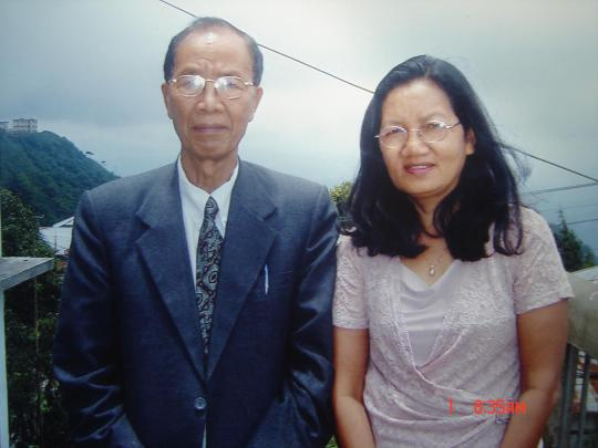 Rev. Rokhama and his wife